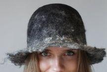 Felt and Fabric - hats