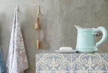 Hammam inspired bathroom / Bohemian & vintage