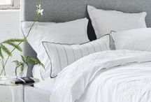 Simply White / Whether its bedlinen or towels, fabric or indeed any of our products- white is an essential and integral part of collections. Adding space and light to a room, bringing a sense of calm to a room.