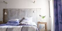 Summer bedroom sanctuary / As the days get warmer and longer we look to keeping our bedroom as cool as can be with our favourite bedroom linens and natural fibres.