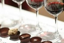 Wine and Cheese Pairings / Wines and cheeses that pair perfectly with our Bittersweet Dark Chocolate!