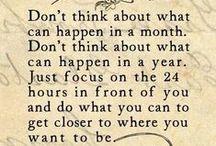 Inspiration / Uplifting messages to help us prosper