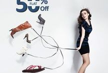 Trendy Ladies Footwear in India / Select your favorite designer footwear and match it up with your favorite dresses.