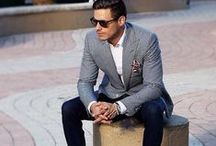 Men's fashion / A range of fashionable and trendy clothing.