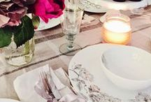 Floral Grey at Tesco, UK / Eclectic Romantic Table Styling by Selina Lake
