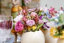 Decoração de Páscoa / Mesas e detalhes para comemorar a Páscoa em família com muita alegria e carinho!