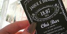 Convites Digitais - Chá Bar / Lindos convites digitais para chá bar!