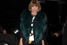 CELEBRITIES IN FUR