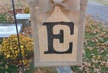 Things made with Burlap