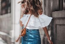 | Boho Style | / Boho Style Inspiration | Summer fashion + bohemian + casual style + beachy + effortless look