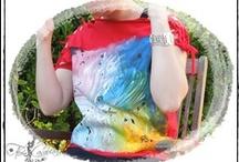 Camisetas por Flor Casablanca / Camisetas customizadas y pintadas a mano