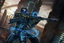 Body armour / sci-fi suits / Pics of futuristic body armour/sc-fi suits