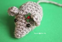 Hill Side Crafts - Animals Crochet. & Knitted / Full Size Animals / by Sharon Wilson
