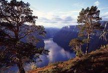 Norwegische Fjorde / Schmale Fjorde, die sich ihren Weg durch hohe Berge schneiden, Wasserfälle, die steile Berghänge hinabtosen, Gletscher, die niemals schmelzen wollen. Die norwegischen Fjorde ragen von der Küste weit ins Landesinnere hinein und laden zu aktiver Erholung ein.