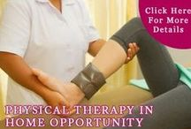 Physical Therapy / Tips for keeping up with your Physical Therapy at home.