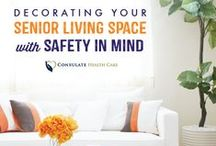 Resident Decor Ideas / Help your loved one feel at home in their long term care center with these tips!