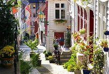 Stadtleben in Norwegen / Oslo, Bergen, Stavanger und Trondheim sind die 4 größten Städte Norwegens und haben nicht nur städtebaulich und historisch sondern auch kulturell Einiges zu bieten.