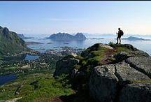 Wandern in Norwegen / Es gibt ein weites Netz gut gepflegter, markierter Wanderwege in ganz Norwegen.