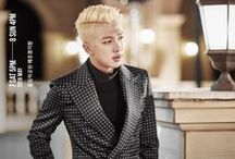 Rap Monster   김남준 / 김남준 (Kim Namjoon) . 12041994. Main Rapper . Leader . Brain . Clumsy . Sloopy . Height .