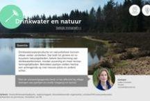 Drinkwater en natuur / Grotere natuurgebieden, een betere bescherming van drinkwaterbronnen en meer recreatiemogelijkheden. Dat is de uitkomst van de Groene Tafel Natuur & Drinkwater die vandaag plaatsvond in Kasteel Groeneveld in Baarn. Daar kwamen op initiatief van de drinkwatersector natuurbeheerders, overheden, wetenschappers en drinkwaterbedrijven bijeen. Zij hebben afgesproken meer samen te werken en elkaar te versterken om binnen bestaande budgetten meer doelstellingen te bereiken.