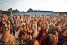 Festivals in Norwegen / Norwegen ist bekannt für ein breites Angebot an Konzerten und Festivals während der Sommermonate.