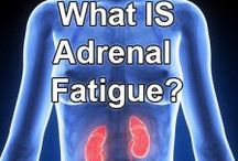 Adrenal Fatigue / Adrenal Fatigue is a very real health issue and it can be treated. Please follow our board  and share what you find.  Thank you