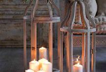 Lantern & candel