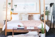 | Bedroom | / Bedroom Decor | Clean + bright home decor + home inspiration + white decor + rustic decor + beachy decor