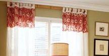 """Zasłony na szelkach / tab top curtains / Miniroom - Szelki to najbardziej """"chłopięcy"""" sposób na dekoracje okien, bo świetnie wygladają w pokojach młodych żeglarzy, sportowców i rajdowców. Ale nie tylko. Szelki sprawdzą się w kuchni, a nawet romantycznej sypialni. Są proste w obsłudze,  dowolnie się marszczą, są bezproblemowe. Sami zobaczcie."""