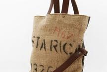 Burlap  / Repurpusing Coffee Sacks
