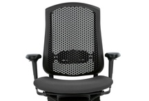 """Celle / Product Story   Say """"SELL-uh."""" Meaning—an affordable, sophisticated, supportive work chair that disassembles in five minutes and is 99% recyclable. But you won't be recycling this durable chair any time soon. Celle combines innovative support, great looks, and more comfort than any other work chair in its price category."""