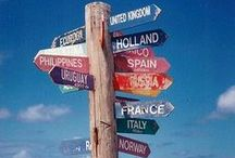 Travel Bug / Travel around the world. Places I've been and I want to visit / by Lena PD