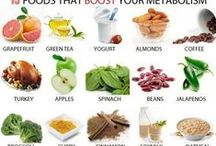 Metabolism Boosters! / Get that Metabolism UP! Metabolism is the amount of energy (calories) your body burns to maintain itself. / by Fitness- Blonde