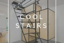 Cool stairs / Pictures from various sources and repins from amazing stairs and staircase designs.