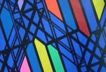 Construction time again / painting, abstraction, geometric