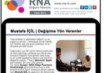RNA Change Agents | Değişime Yön Verenler