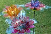 """""""trash""""flowers / by Agnes Janssens"""