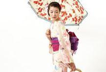 Yukata Coordinates / a yukata; an unlined cotton kimono