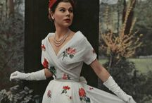 Vintage gowns / by Vintage Headwear TrifleRabbit