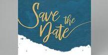 Mariage ♡ Save-the-date / Prévenez vos proches de la date prochaine de votre union avec un save-the-date ou pré-faire-part de Mariage créé pour l'occasion sur Carteland.