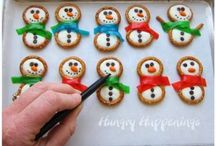 Winter / Winter and Christmas crafts, DIY projects, decorating ideas, food, recipes, Christmas light ideas, and more!