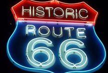 Route 66 / by Véro Mod'Art
