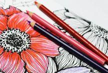 Kresby, malby, nákresy