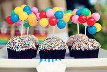Goûter d'anniversaire : nos idées / De l'invitation à la décoration, des inspirations colorées pour vous donner des idées !