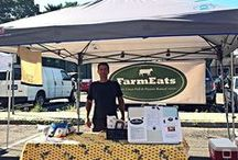 farmers market / where you can find farmeats' meat