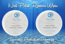 Nail Polish Remover / This amazing Australian innovation delivers a gentle formulation with less chemicals providing a more natural alternative for nail polish removal. Acetone & Ethyl Acetate Free. Non Flammable. Water-based Technology. Ideal for travel. Fast, effective and gentle. No awful solvent odours to breathe in. Free of poisons and harsh chemicals. Vegan Friendly.