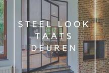 Stalen taatsdeuren / Met onze populaire stalen taatsdeuren collectie creëren we tijdloze blikvangers die in elke interieurstijl tot hun recht komen.