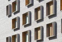 Brick facade / Brick facade and architectural details