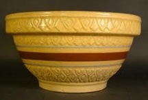 Yellow-Ware Pottery/Ironstone / by Carol Newton