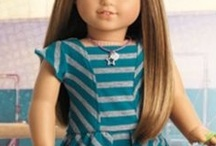 American Girl Dolls / I never had one of these dolls, but my granddaughter got one for her birthday this year.  She has McKenna.  I can't wait to see this doll, since I have heard of them forever!